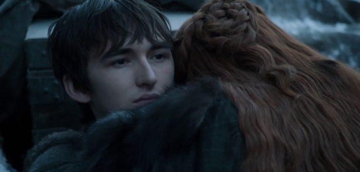 Bran y Sansa Stark | Game of Thrones 7×03
