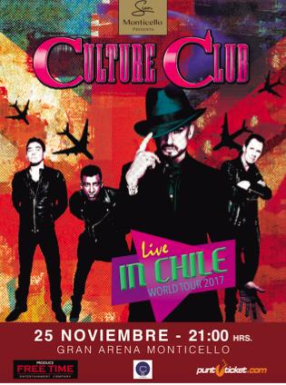 Afiche del concierto.