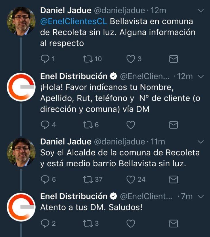 Captura de @soylaCe en Twitter