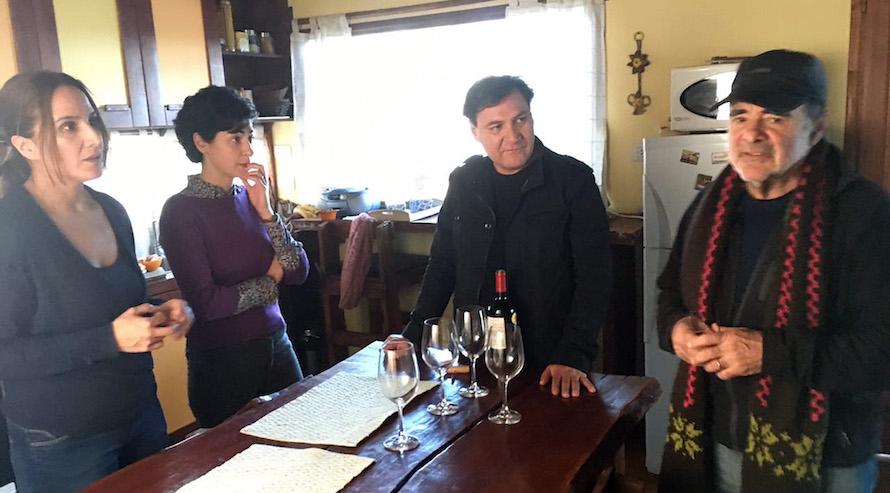 Claudia Pérez, Victoria Almeida, Rodrigo Muñoz y Carlos Sorín. Foto: Leonardo Quezada