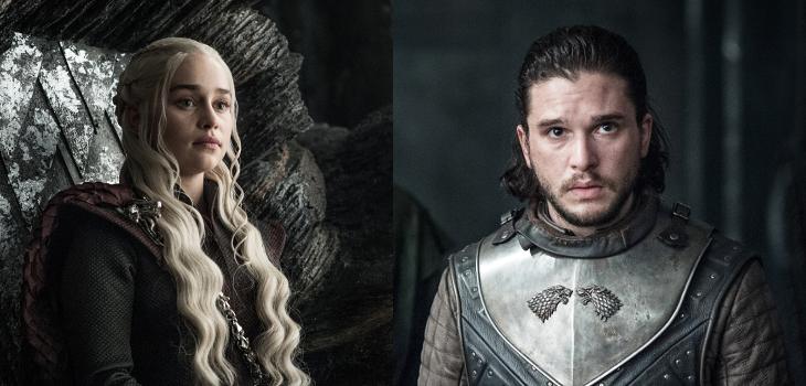 Daenerys Targaryen y Jon Snow | Game of Thrones 7×03