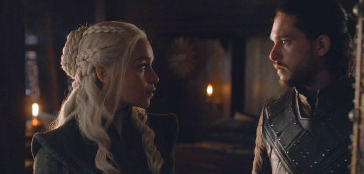 Daenerys Targaryen y Jon Snow | Game of Thrones 7×07