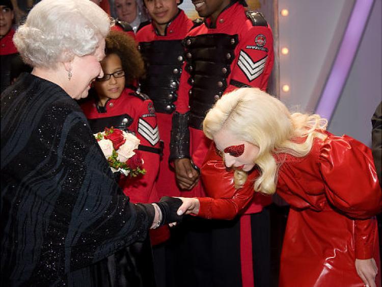 No pase vergüenzas como Lady Gaga
