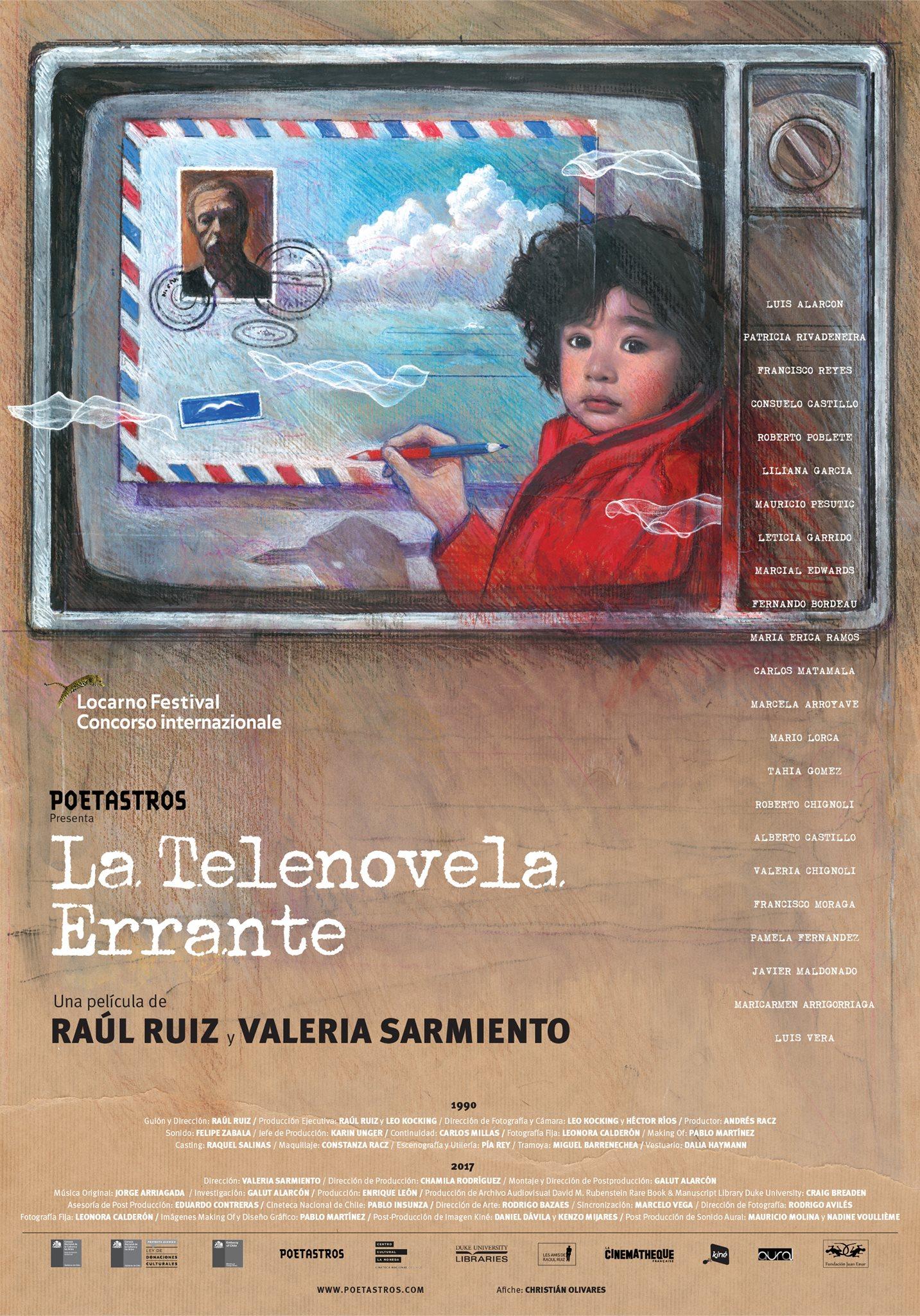 "El afiche de ""La telenovela Errante"""