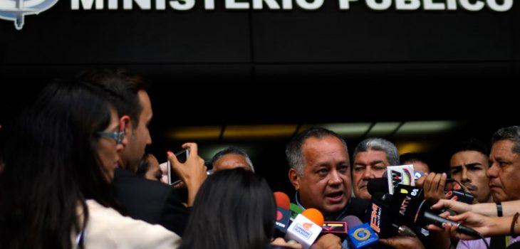Diosdado Cabello   Juan Barreto   Agence France-Press