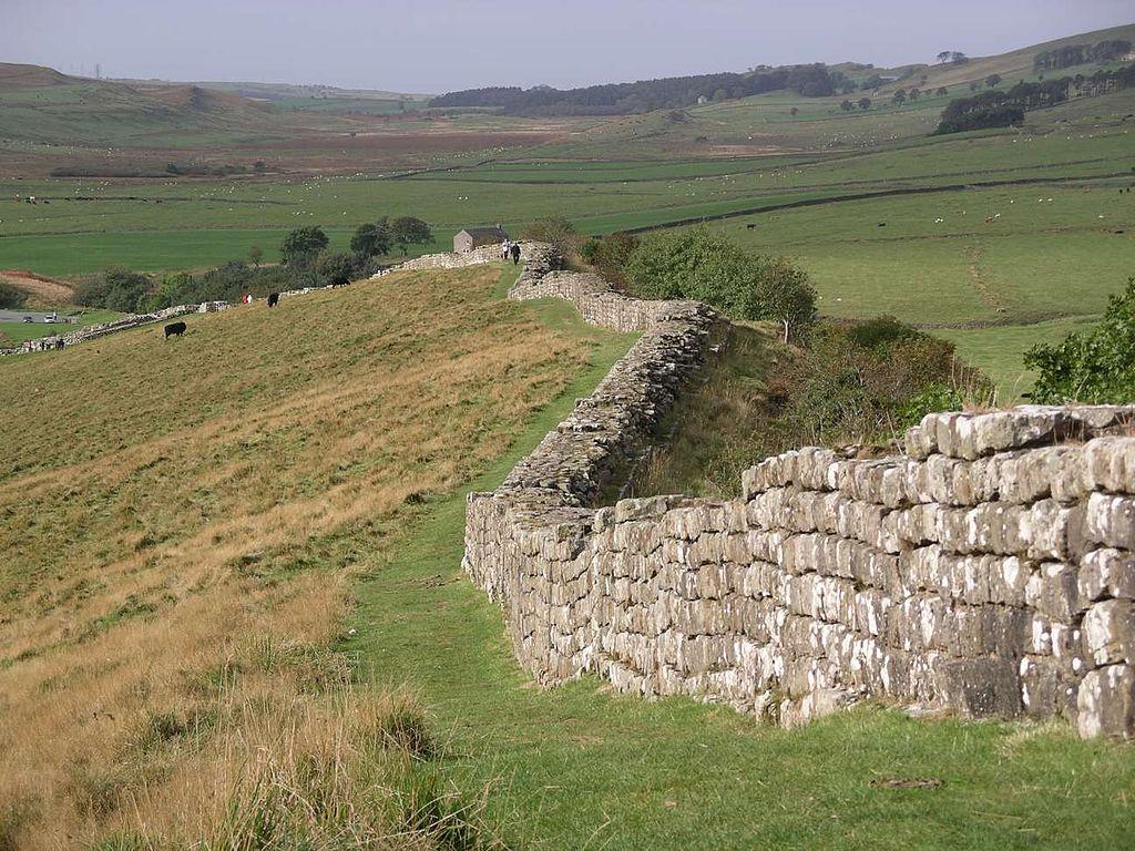 Muro de Adriano  Wikimedia Commons
