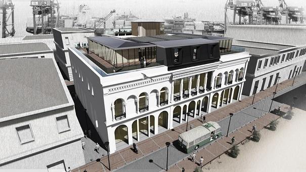 Proyecto de restauración del palacio | Archivo | Twitter | @munivalpo