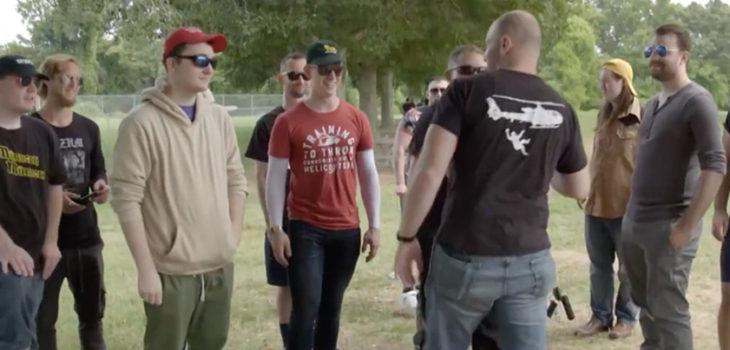 Captura del documental de Vice News sobre los incidentes de Charlottesville