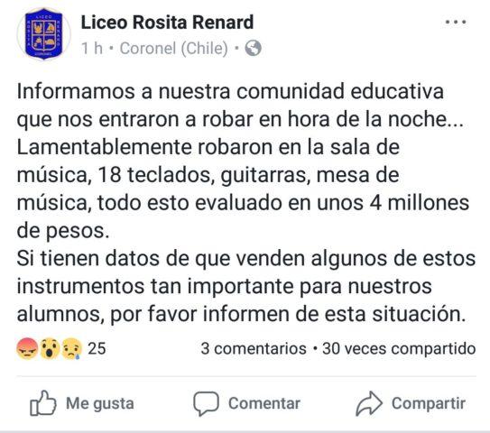 Liceo Rosita Renard | Facebook
