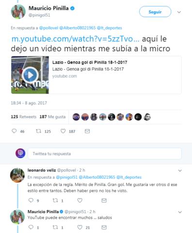 Mauricio Pinilla | Twitter
