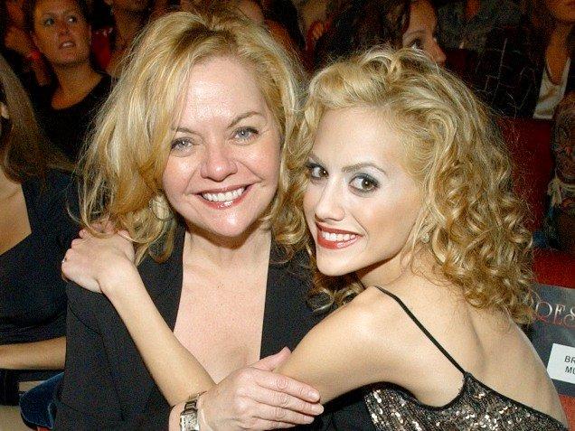 Brittany y su madre