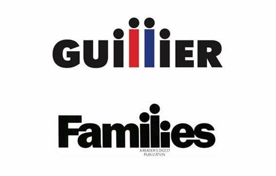 Comparación de logos de Families y Guillier
