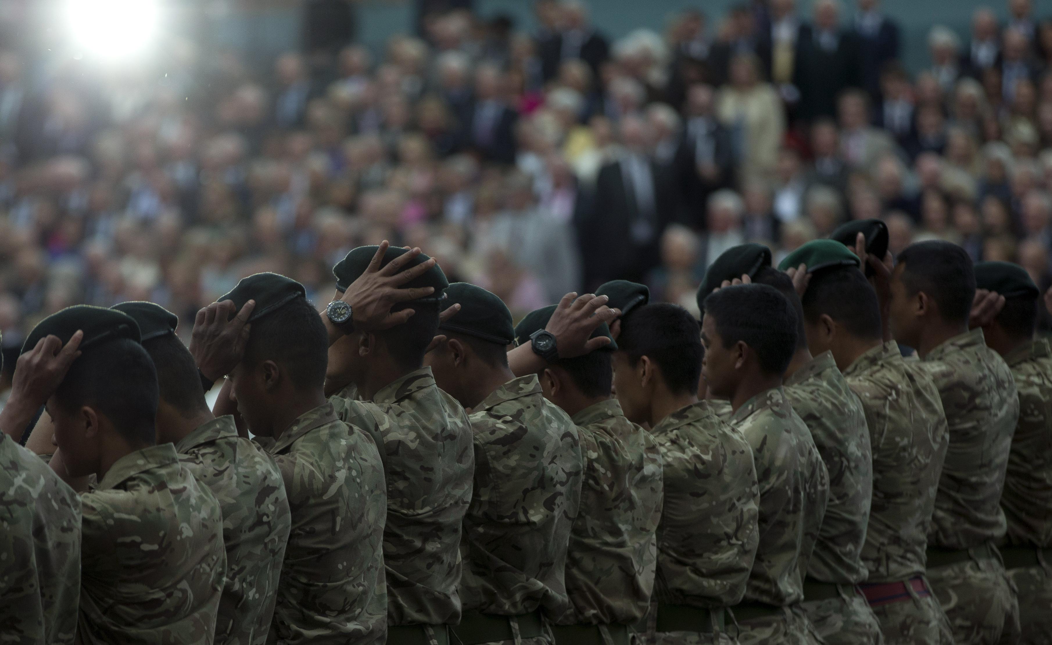 Soldados Gurkhas en 2015 | Agence France-Presse