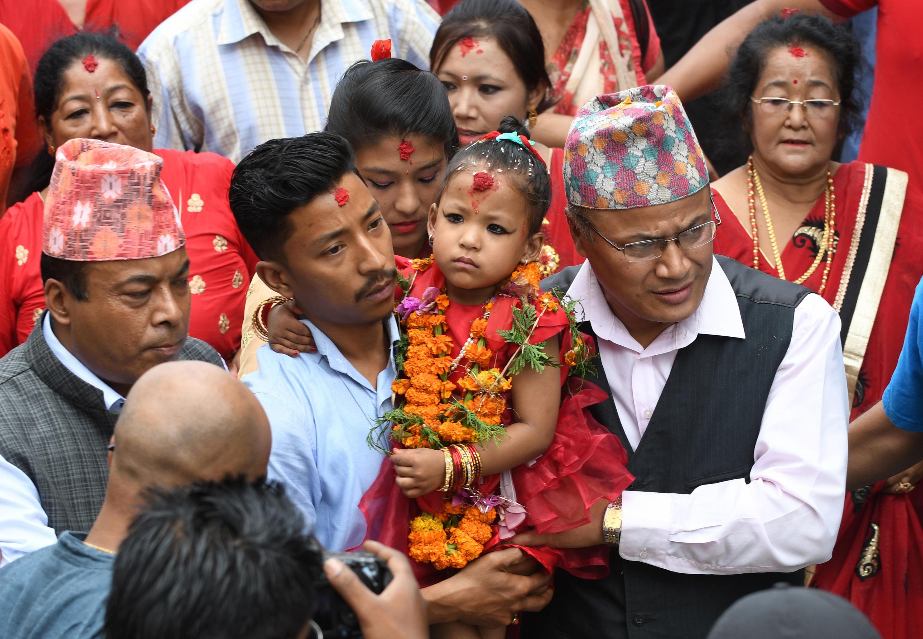 Prakash Mathema  | AFP