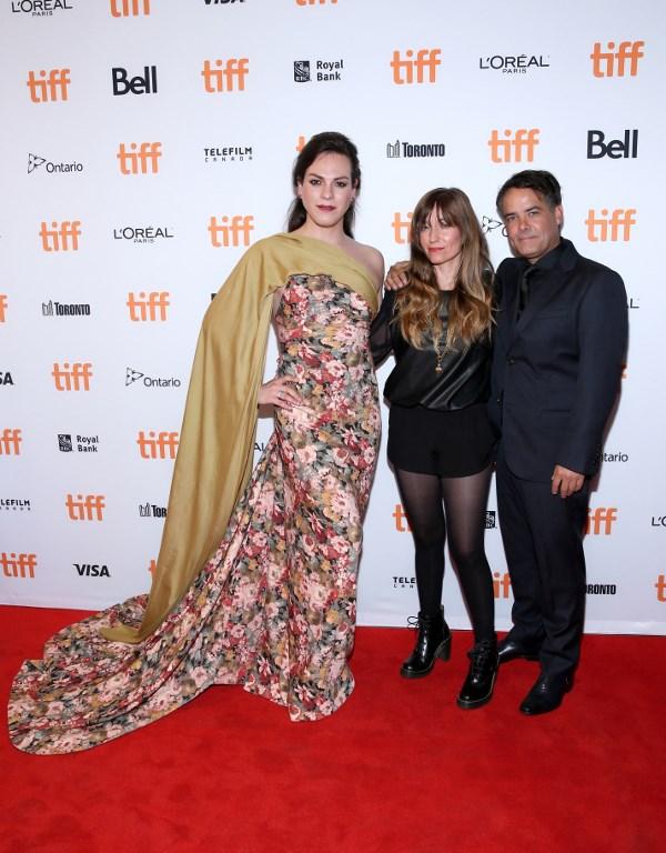 Daniela Vega, Frida Torresblanco, y Sebastian Lelio