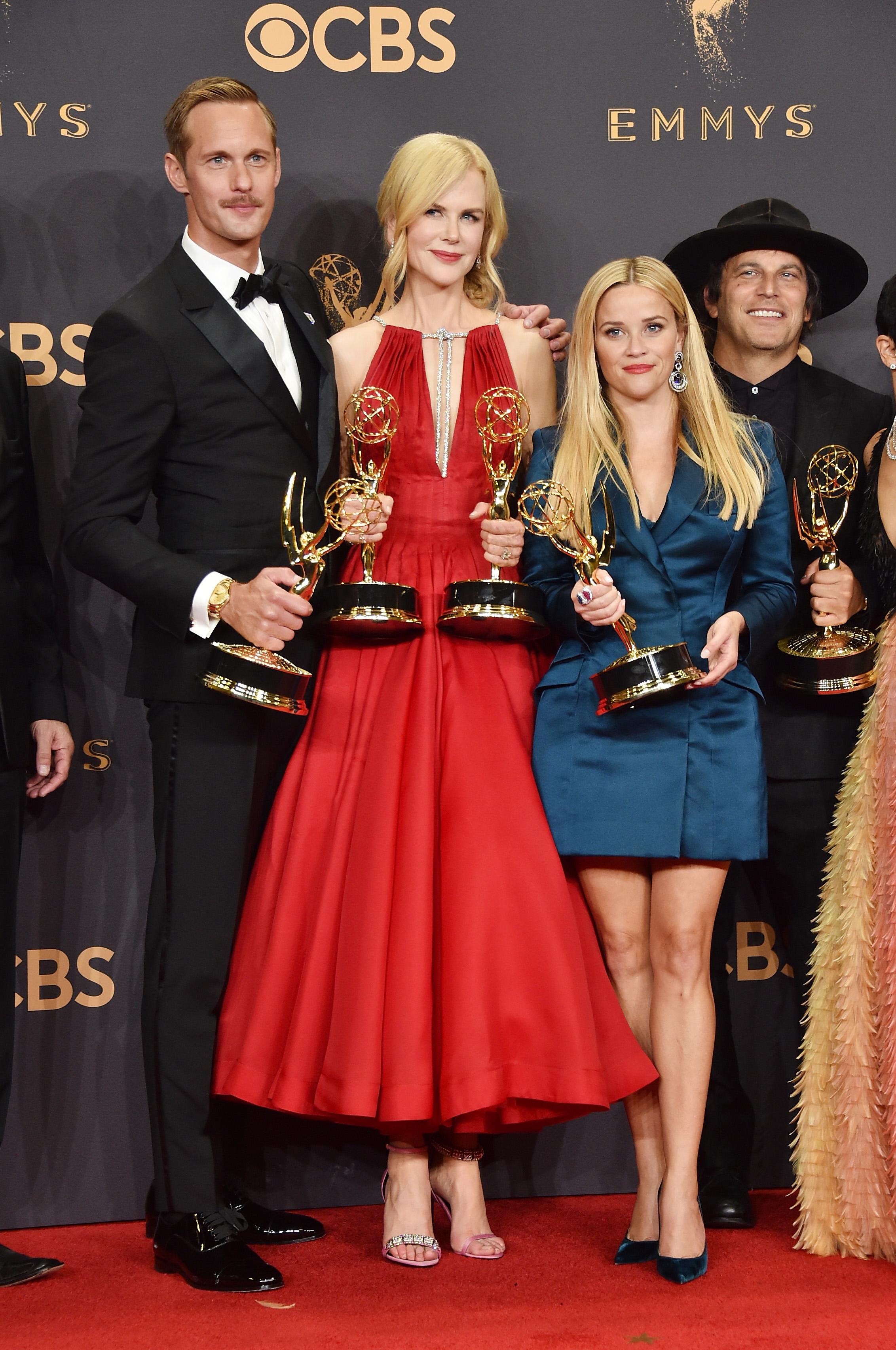 Alexander Skarsgard, Nicole Kidman, y  Reese Witherspoon