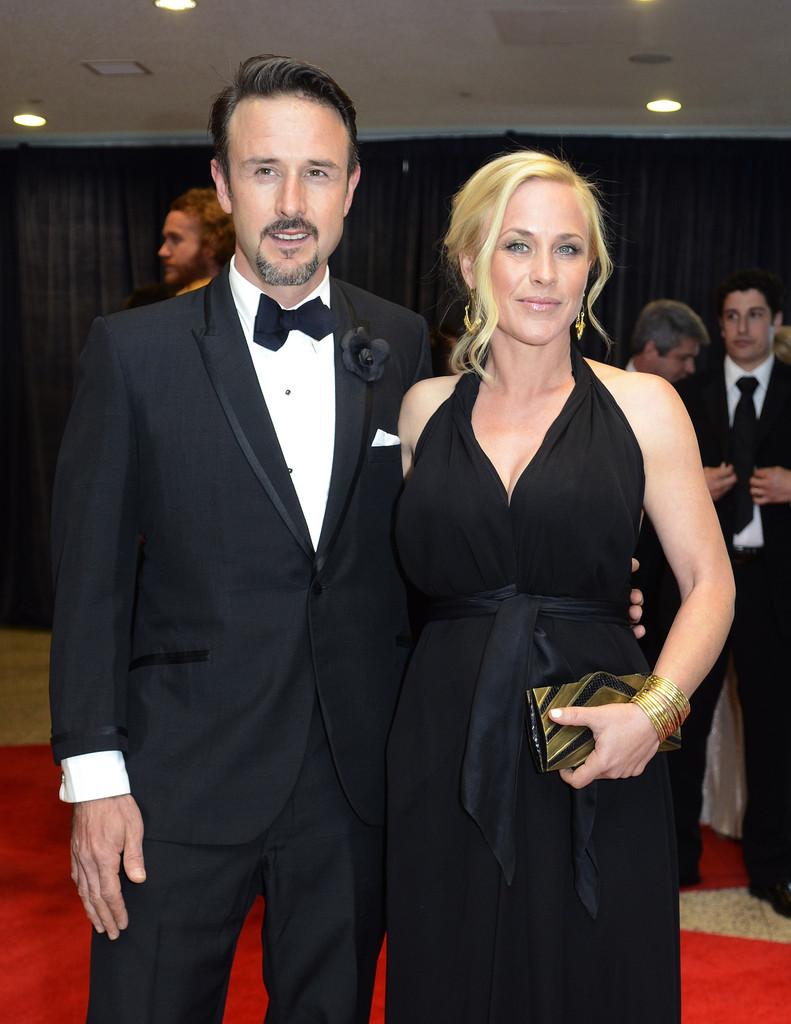 David y Patricia Arquette