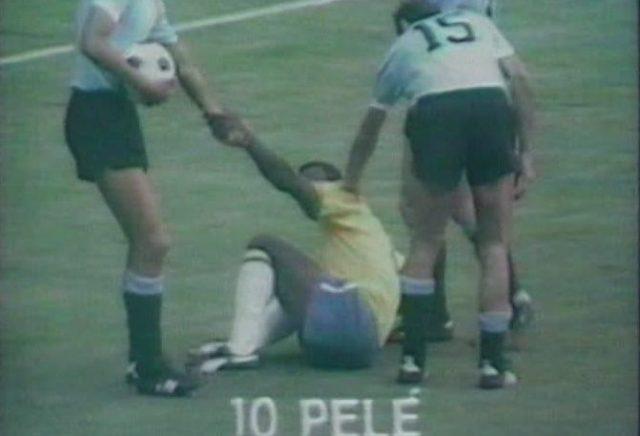 Brasil-Uruguay en 1970