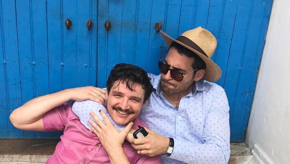 Pedro Pascal y Miguel Ángel Silvestre | Instagram