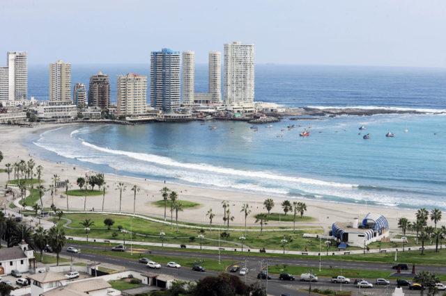 Playa Cavancha | Cristian Viveros Boornes | Agencia UNO