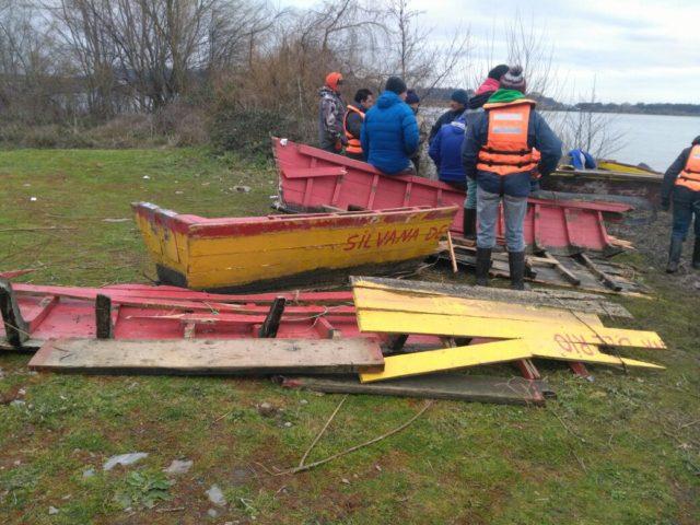 Así quedó el bote del pescador extraviado | Pedro Cid (RBB)