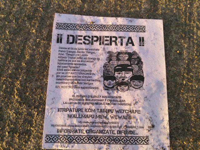 Panfletos encontrados en el lugar | Pedro Cid (RBB)