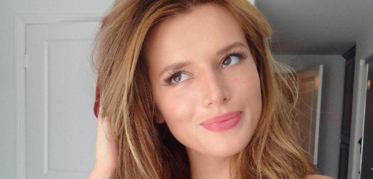 El Desnudo Sin Photoshop De La Ex Chica Disney Bella Thorne Para