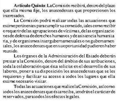 Extracto de publicación en Diario Oficial de 11 de noviembre de 2003.