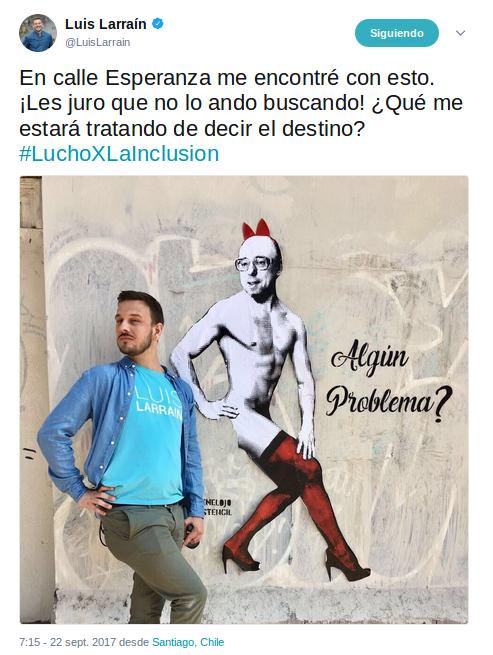 Luis Larraín | Twitter