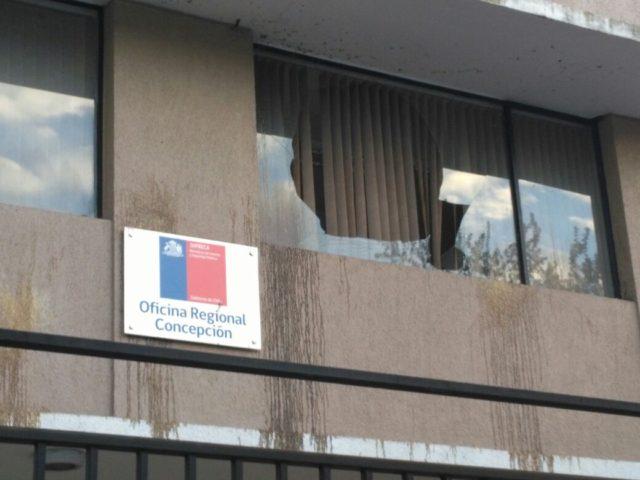 Ventanales destruidos | Pedro Cid (RBB)