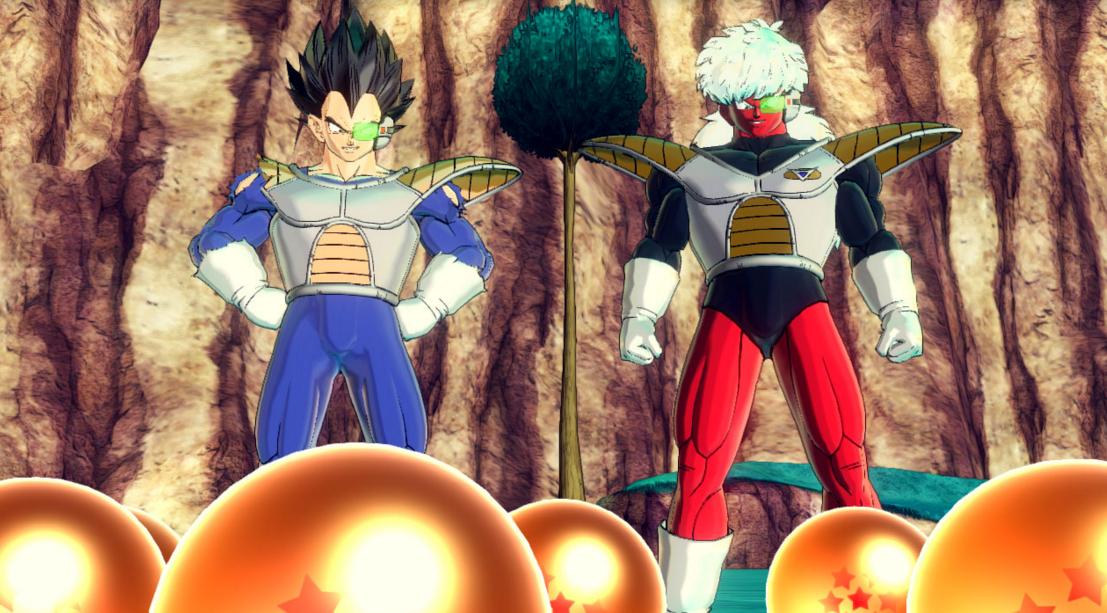Vegeta y Jiz | Dragon Ball  Xenoverse 2