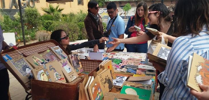 Encuentro Internacional de Editoriales Cartoneras, Biblioteca de Santiago (c)