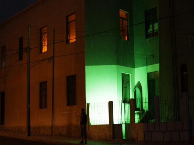 Colectivo de Instalaciones Lumínicas en Sitios de Memoria