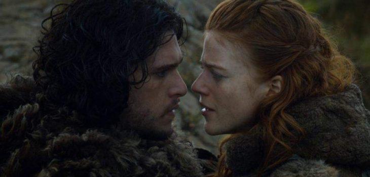 """Kit Harington y Rose Leslie en """"Game of Thrones"""""""