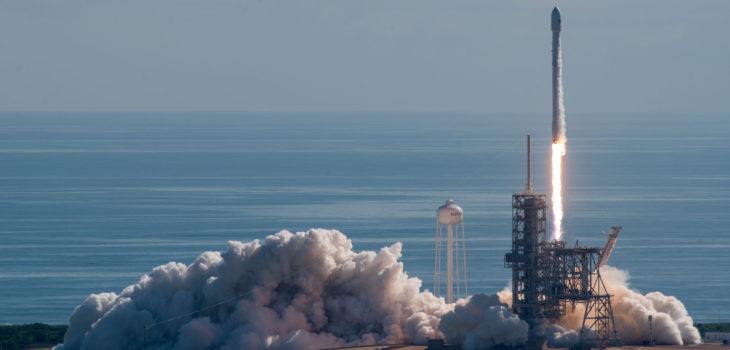 Lanzamiento de Falcon 9 | Agence France-Presse