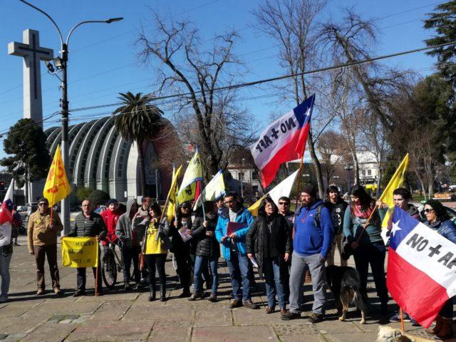 Marcha en Chillán / RBB