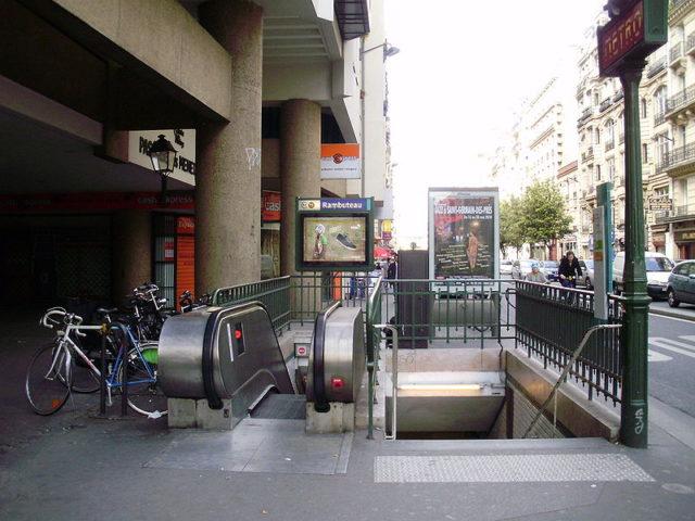 Metro Rambuteau | CC