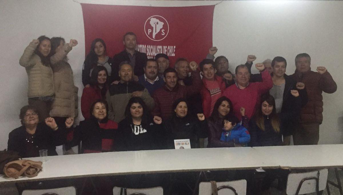 PS Atacama tras ratificar apoyo a Provoste.