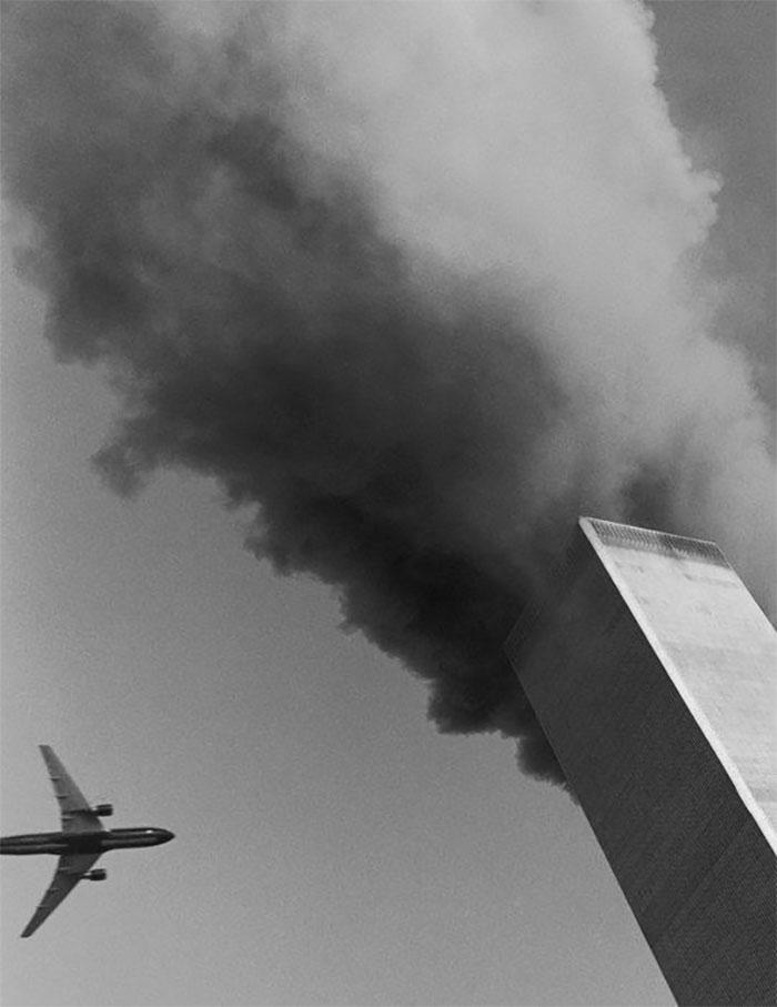 Fotógrafo que desde su casa registró el impacto de su segundo avión | Rob Howard
