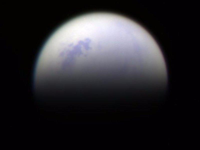 Luna Titán vista desde Saturno | Business Insider