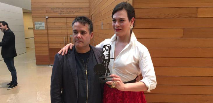 Sebastián Lelio y Daniela Vega en San Sebastián | CinemaChile