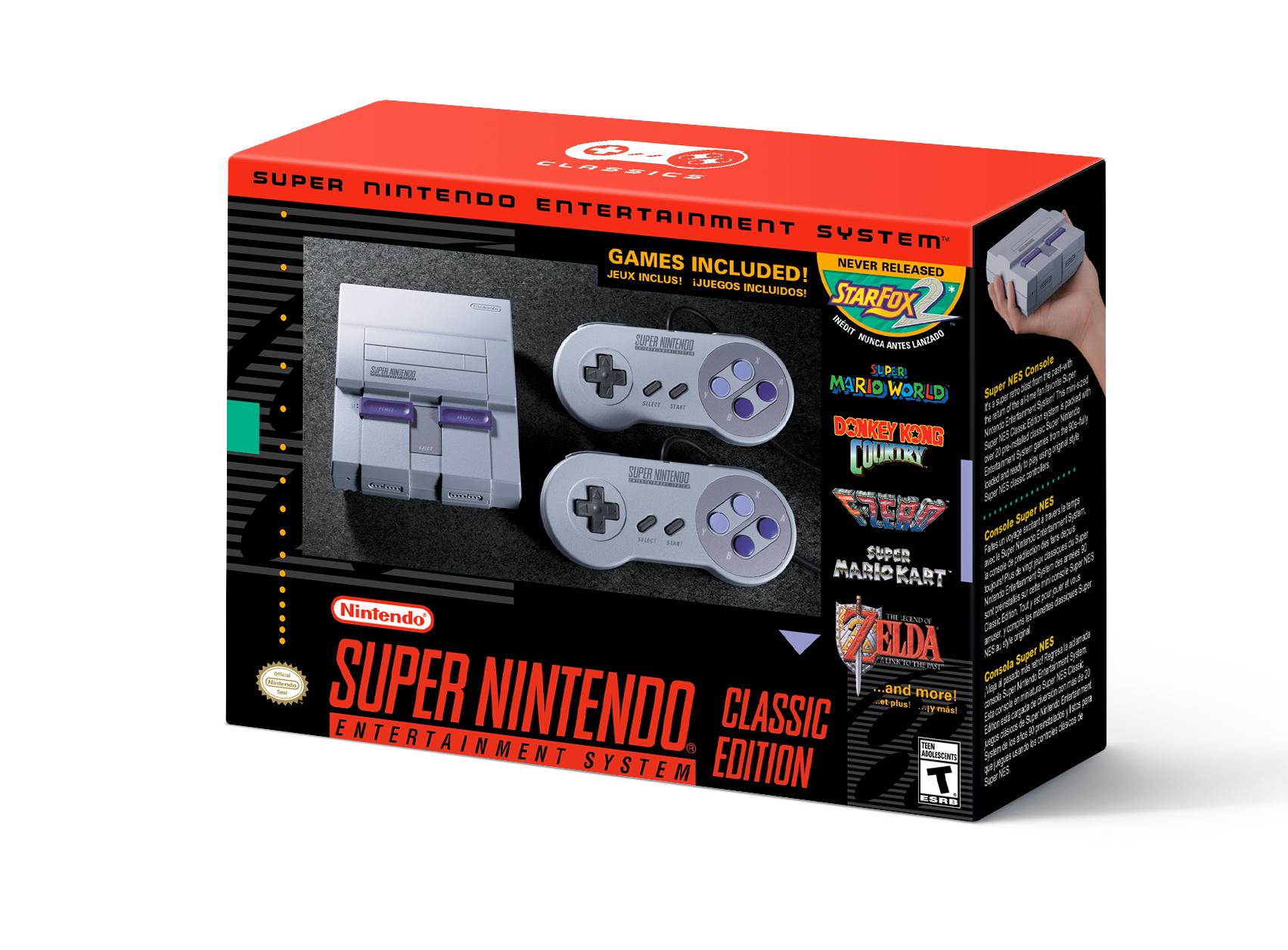Super NES Clasic Edition