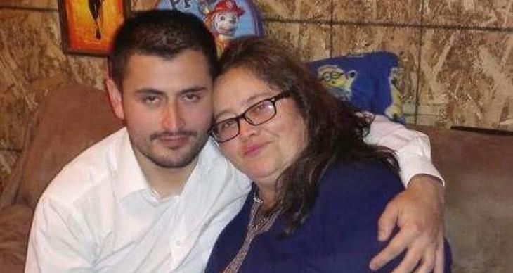 Vladimir Zatapa y su madre, Cecilia Sanhueza