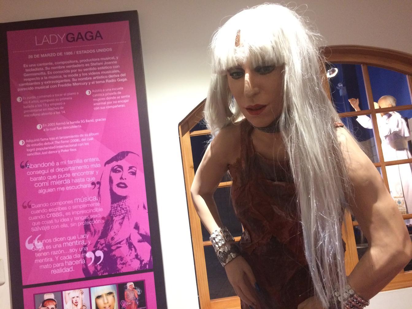 Lady Gaga de cera