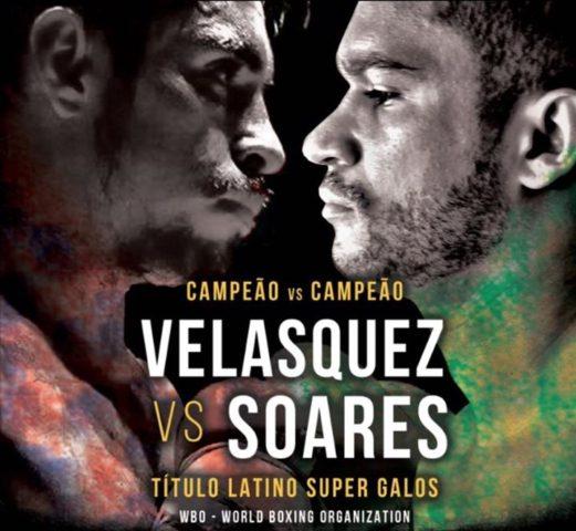 Afiche de pelea en Brasil