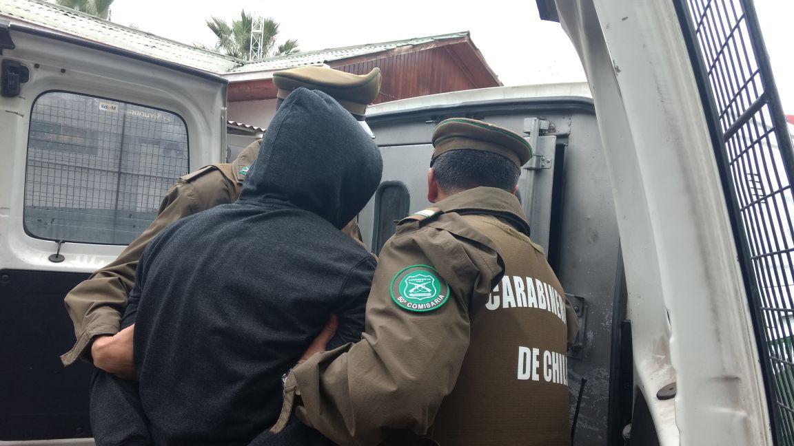 Detenidos por robo con intimidación