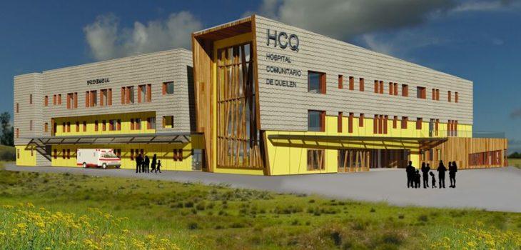 Maqueta digital hospital de Queilen | Henry Burros (RBB)