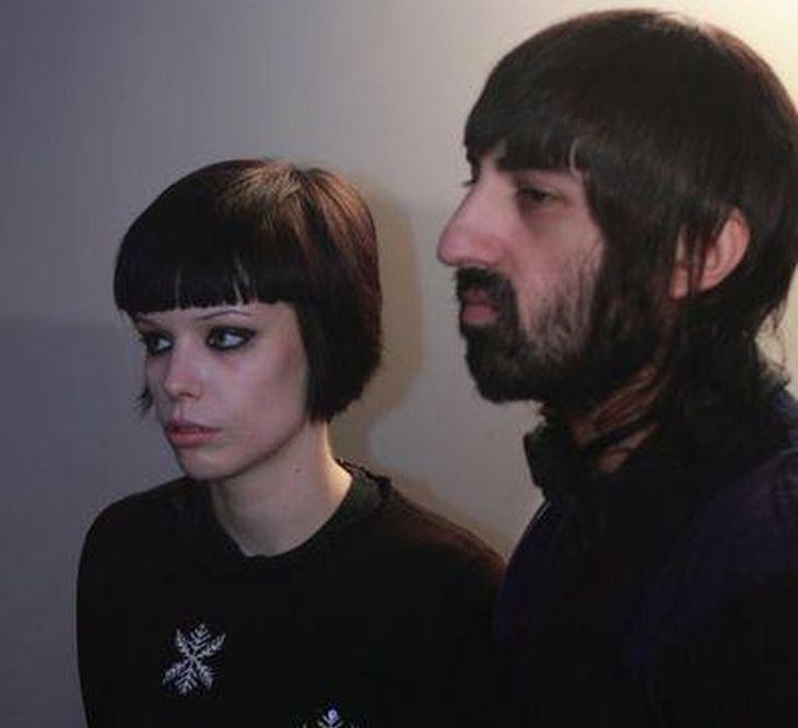 Alice Glass y Ethan Kath
