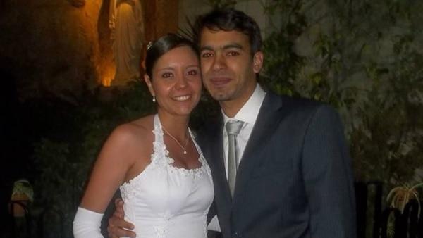 Ivan Furiasse y su esposa