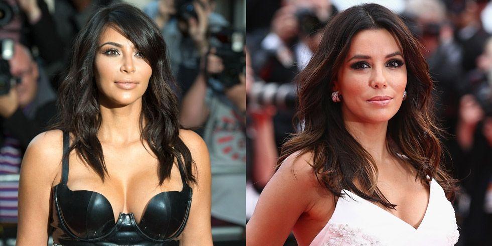 Kim Kardashian y Eva Longoria